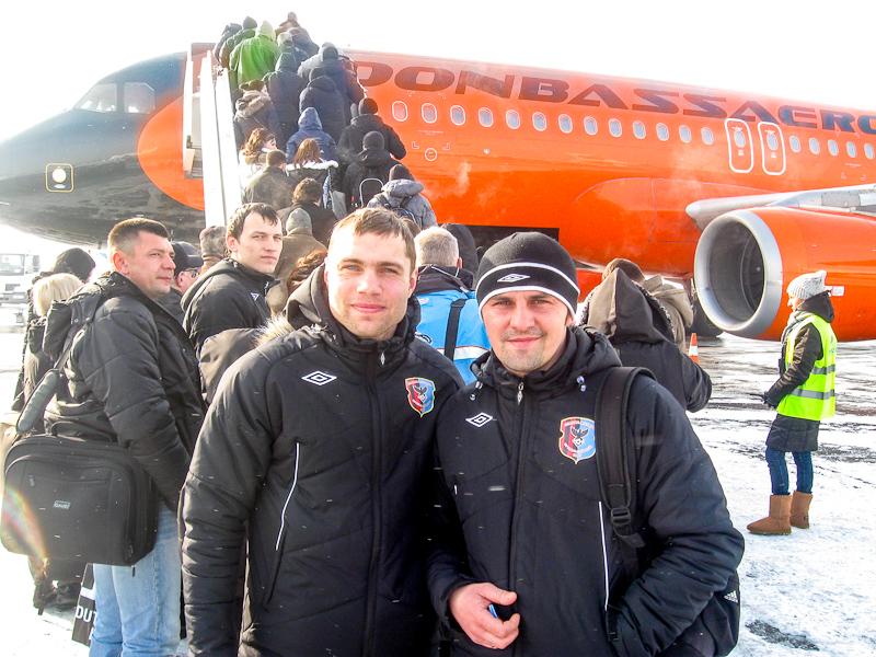 Яков Казак и Алексей Роик в Киеве